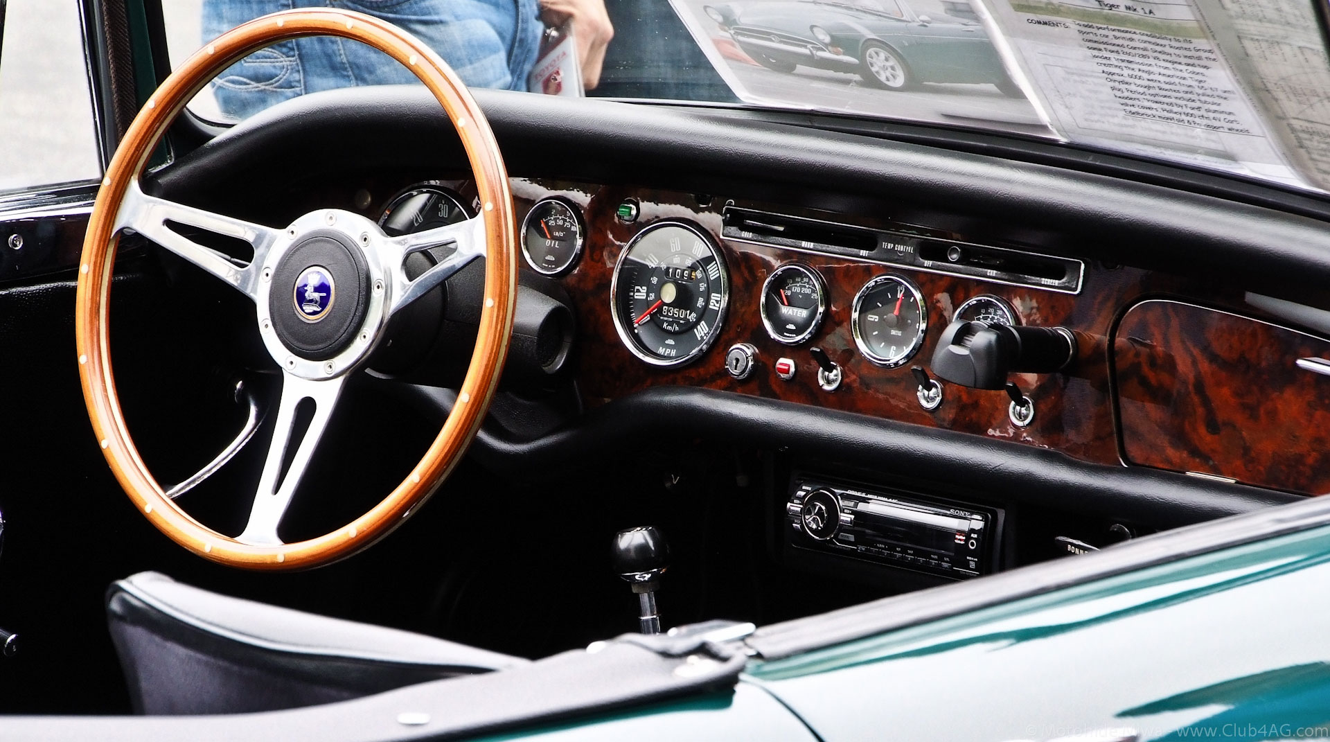 Celebrating A True Classic Car Icon The Sunbeam Tiger At